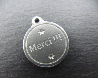 Iron medal white 17mm - thanks