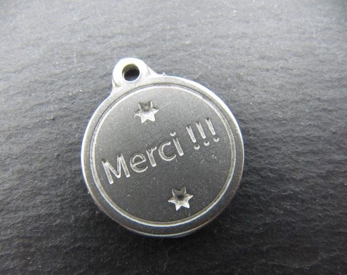 Iron medal white 17mm - thanks