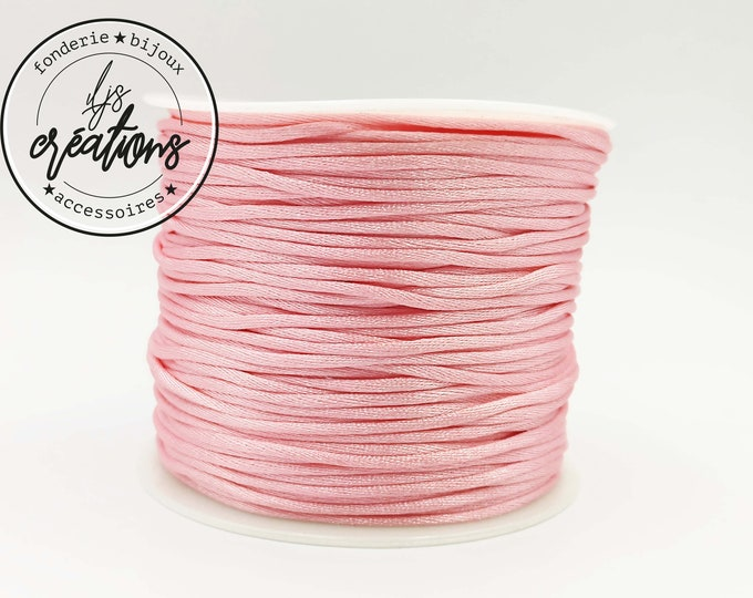 3m string mouse tail - Pale Rose