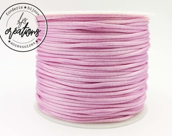 6m cord mouse tail - Old Pink