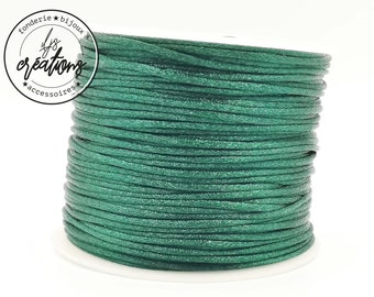 3m string mouse tail - dark green