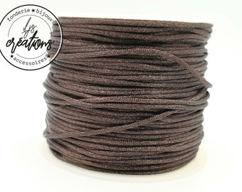 6m of mouse tail cord - Brown
