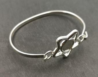 End of stock - bracelet holder star with ø10mm - Metal Bowl