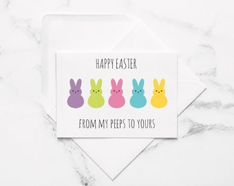 graphic relating to Happy Easter Cards Printable titled Easter card printable Etsy