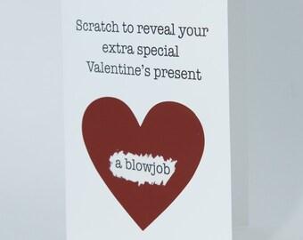 Valentine Card Him Etsy
