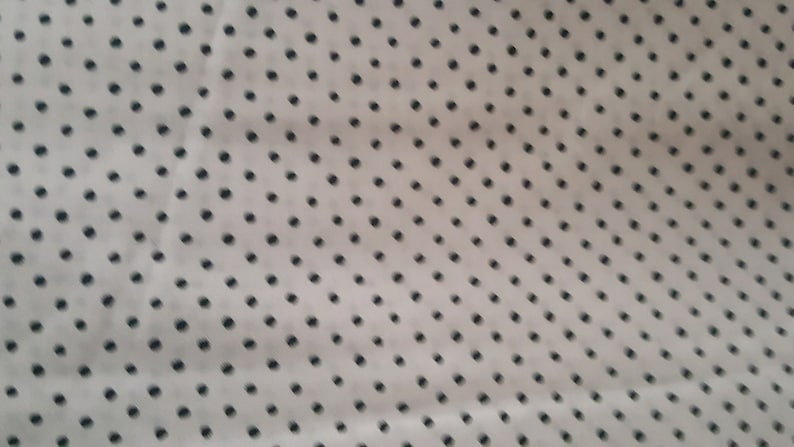 Kings Road Fabrics   Panorama collection white with black polka dots fat quarters