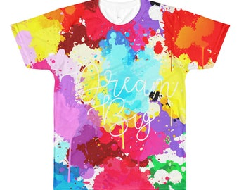 All-Over Printed T-Shirt ( color splash )