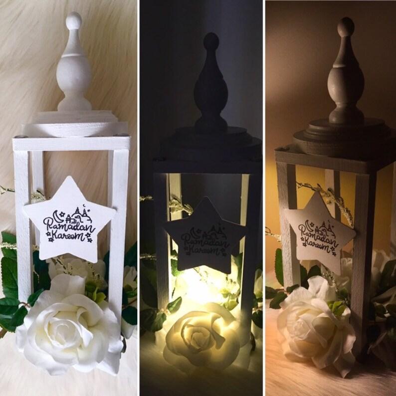 Handmade Wooden Ramadan Lantern Ramadan Lantern. image 0