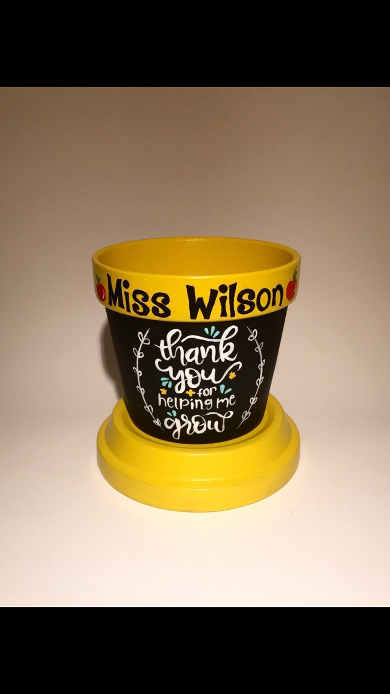 Thank you for helping me grow Plant pot. Thank your gift for image 0