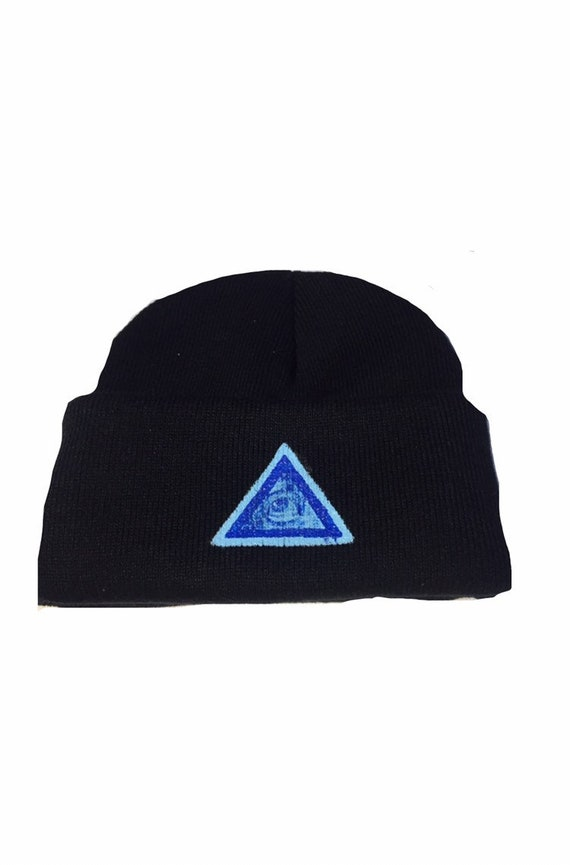 Infamous Eye: Hand Painted Beanie