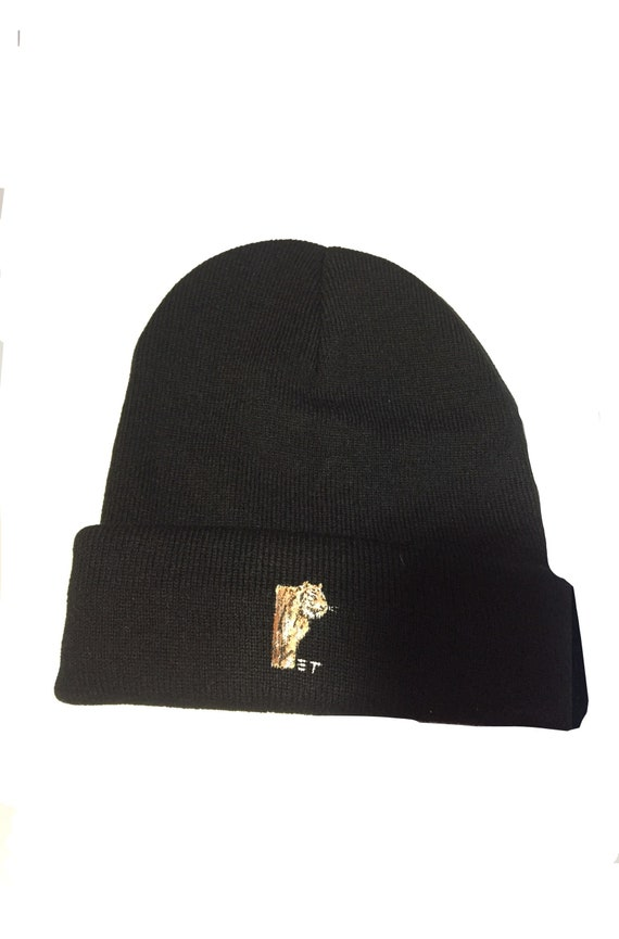 Tiger: Hand Painted Beanie