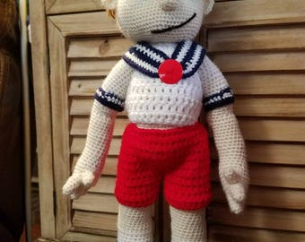 Crochet Little Sailor Boy