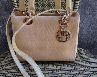 660e3a2eab83 Vintage Lady Dior Carnage Trotter Mono DIOR with Strap