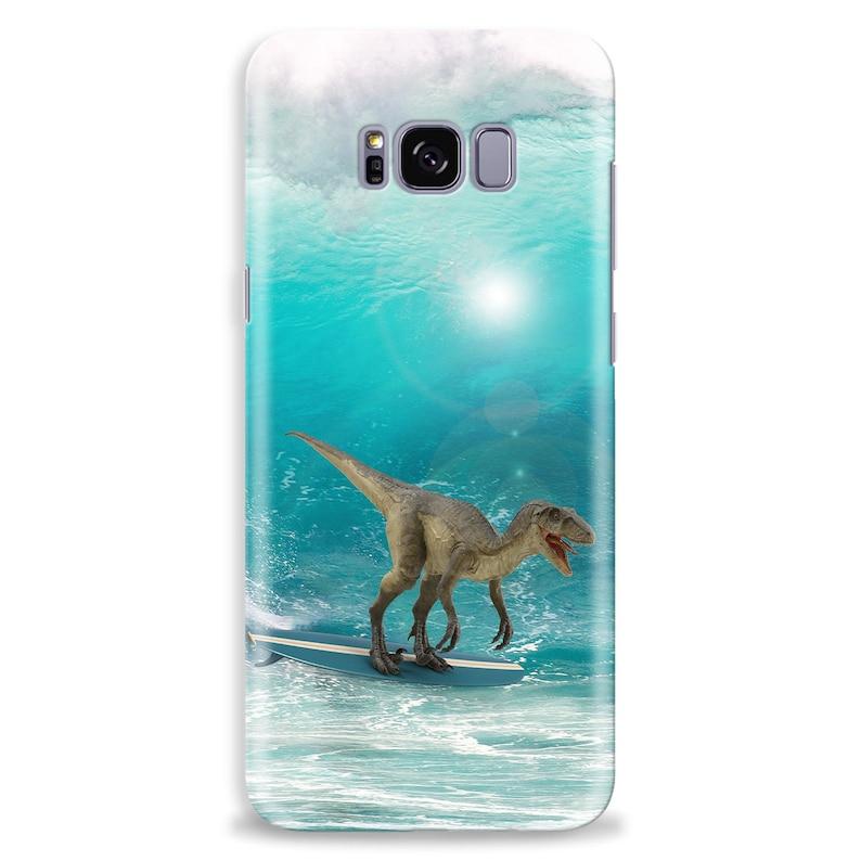 Dinosaur Phone Case Phone Cover T-Rex Dinosaur Lovers Phone Case Kids Phone Case Surfer Dinosaur Samsung Phone Case Custom Phone Case Dino