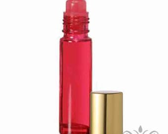red gold perfume etsy