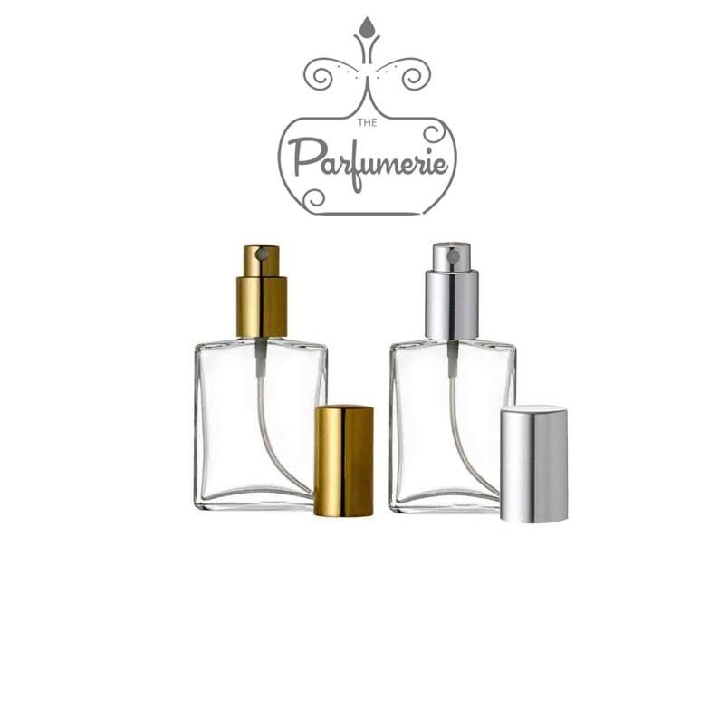 5433166212fb Atomizer Glass Sprayer Bottle WHOLESALE LOT Refillable for Perfume Oil  Cologne Aromatherapy 12 Bottle Set: 1 oz. or 2 oz. Flat