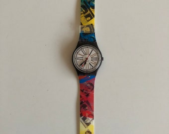 Swatch watch, horloge. GM113, new with box! Limited edition.