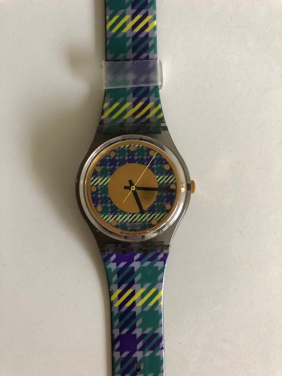 Swatch watch, clock. Swatch tailor GM109.