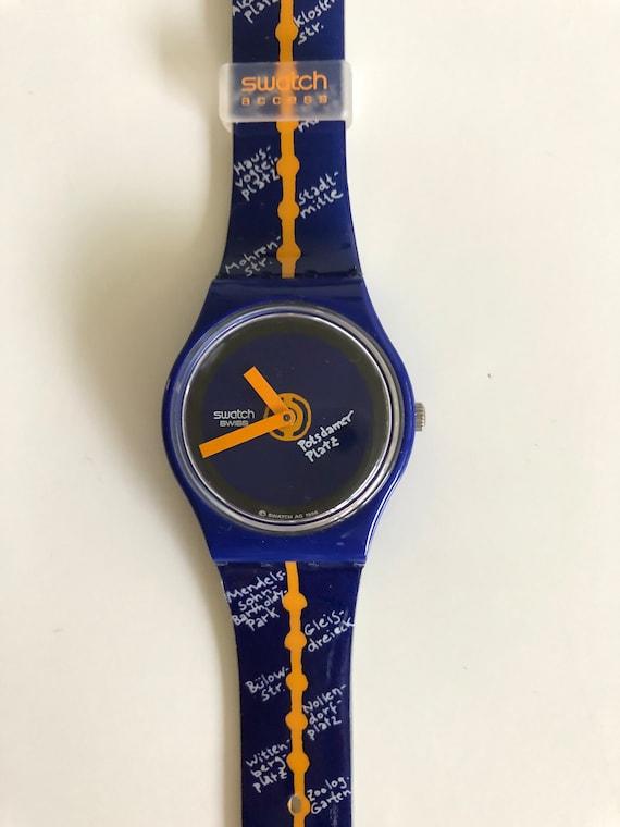 Swatch watch, horloge. Swatch Special SKZ121 Strai