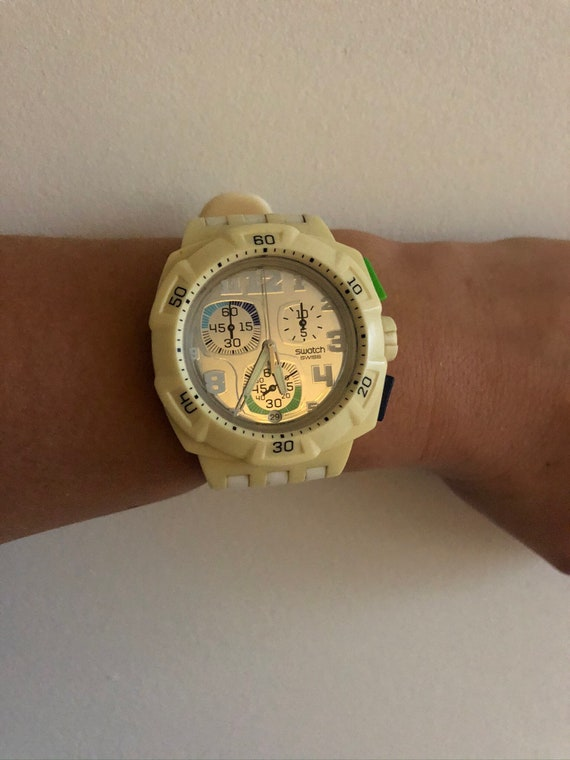 Swatch watch, horloge.