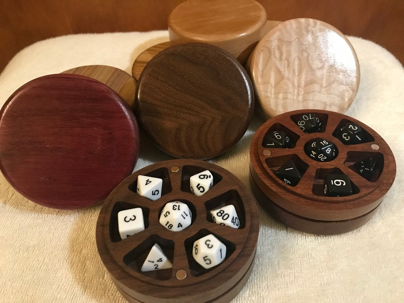 Dice Box / DnD / Table Top RPG Dice Vault / Dungeons and image 0