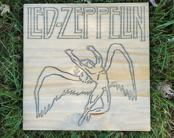 Led Zeppelin Icarus Classic Wall Art Sign