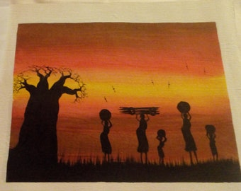 Small Landscape Malawian Paintings