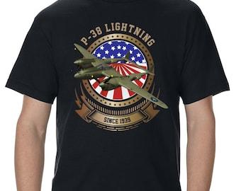 P-38 Lightning Men's T-Shirt
