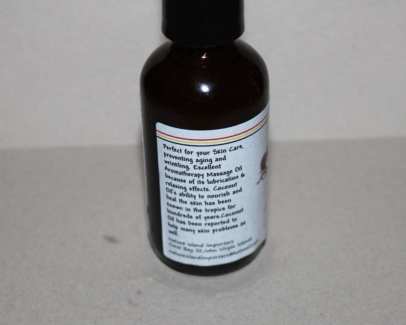 Nature Island Importers Jungle's Mister Coconut West Indies Bay Oil 2oz