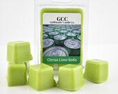 Citrus Lime Soda Scented Wax Melt