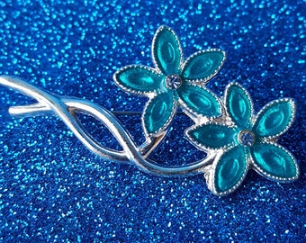 Vintage Double Flower Pin/Brooch