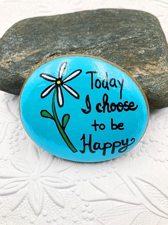 Choose 3 3 Ceramic Positive Affirmation Rocks