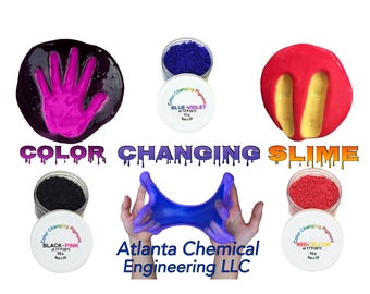 Temperature Activated Color Changing Thermochromic Powder Pigment Perfect For Color Changing Slime Goo
