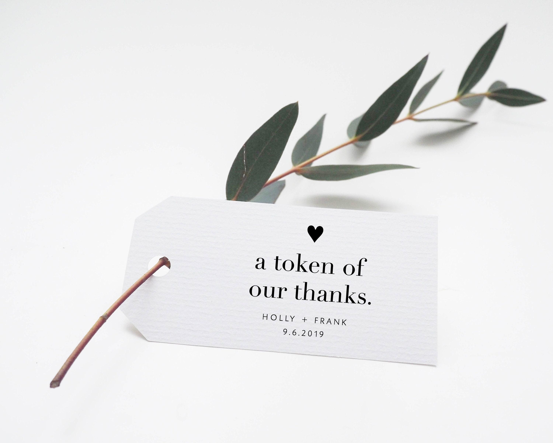 Wedding Gift Thank Yous: Printable Thank You Tags Wedding Thanks Tag Wedding Thank