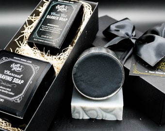Shaving Gift Set with Shaving Soap & Soap Bar | Personalized Dad Gift from Daughter | Long Distance Friend Gift | Secret Santa Gift under 35