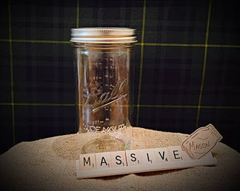 My Mason Jar Monthly 3 Month Subscription Box MASSIVE 24 oz