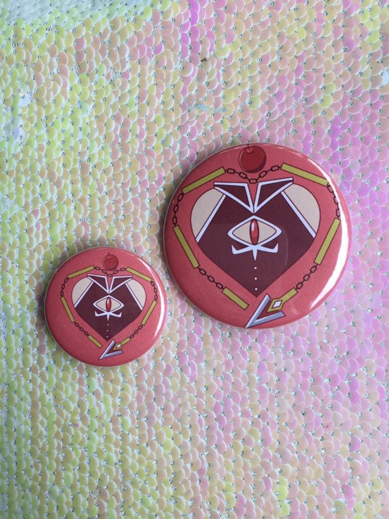 Kyoko Sakura Heart Button large