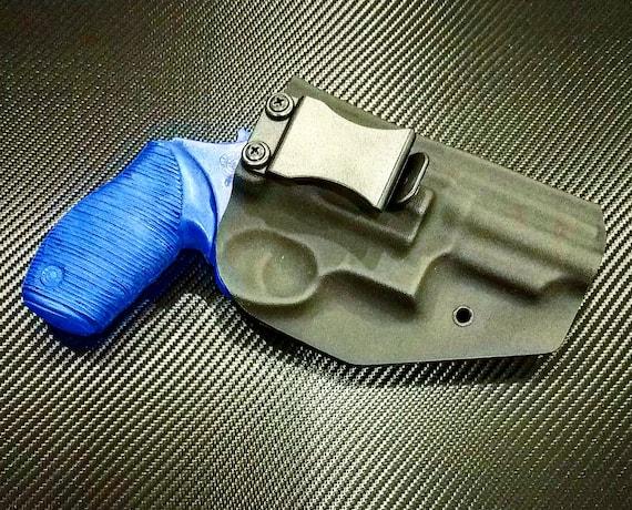 Taurus The Judge 4510 5 Round Revolver 3 Inch Barrel Black Kydex OWB  Holster Left Hand 45 Cal / 410