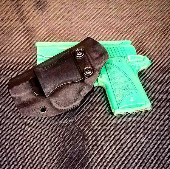 Kimber Micro 9 (1911) Kydex Holster OWB Right Hand Black Kydex