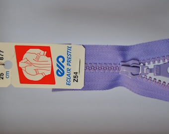 65cm separable zipper Parma violet Z54 877-mesh plastic molded