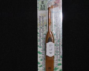 hook n ° 3,5 clover / 3,5mm ergonomic soft touch