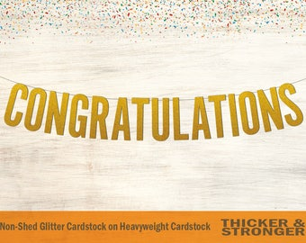 congratulations banner etsy