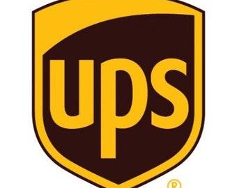 UPS Ground Shipping Upgrade