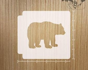 Bear 783 293 Stencil
