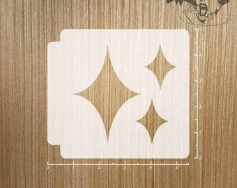 "8/"" x 8/"" Fairydust Stencils /& Masks Unicorn Stencil and Mask in Medium Size"