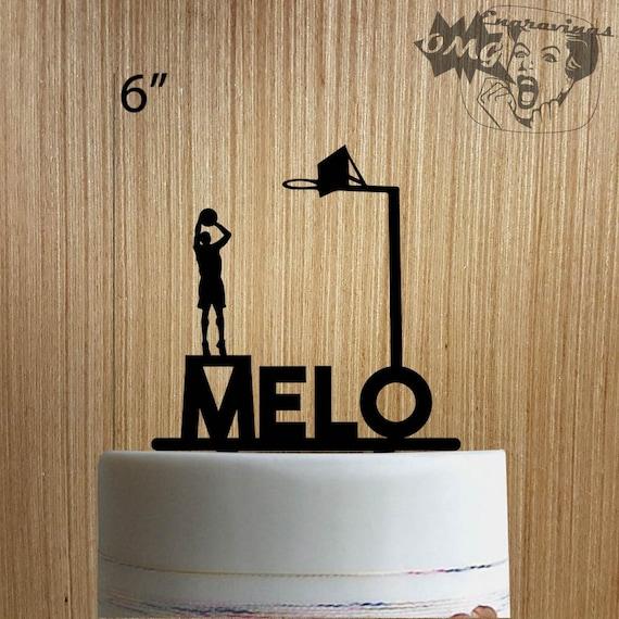Custom Basketball 2255-050 Cake Topper | Etsy
