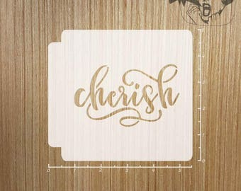 Cherish 783-482 Stencil