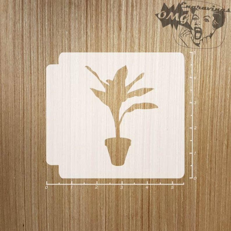 House Plant 783-A303 Stencil
