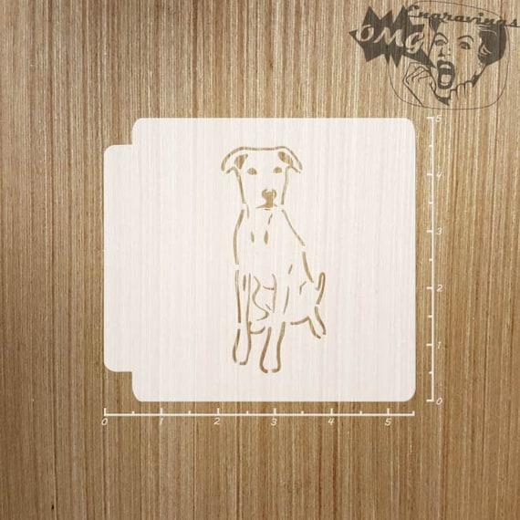 Dog Love 783-962 Stencil