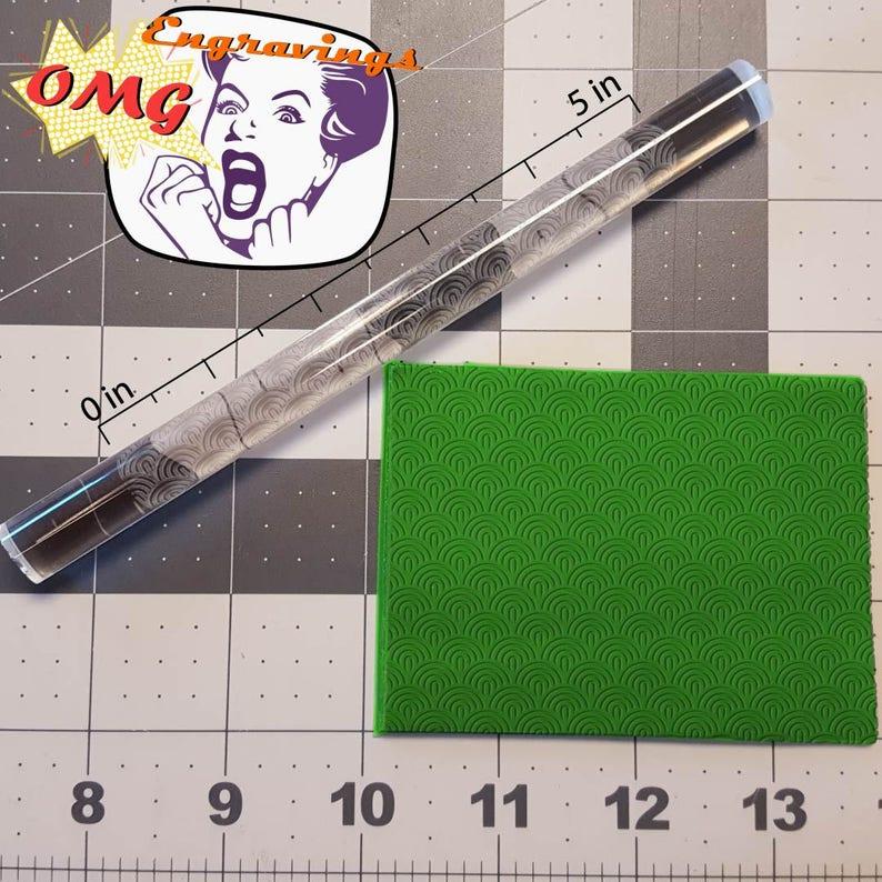 Semi-Circle 765-160 Rolling Pin